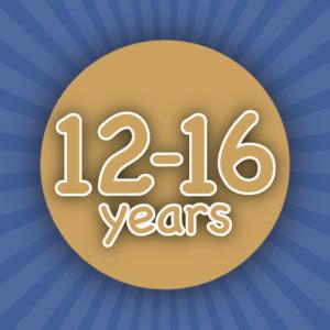 Seniors - 12 to 16 years